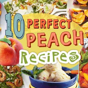 10 Perfect Peach Recipes | Peach Desserts and Entrees Recipe Compilation