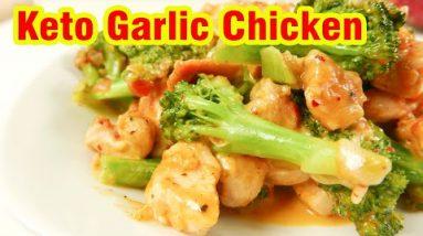 Delicious KETO Garlic Chicken with Broccoli | Chicken Recipes Easy