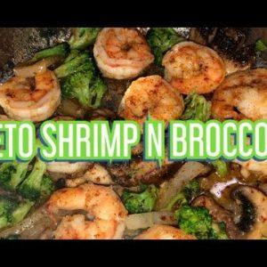 Keto Shrimp and Broccoli with Chef Bae