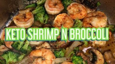 Keto Shrimp and Broccoli with Chef Bae