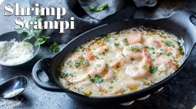 10 Minute Keto Shrimp Scampi | Red Lobster Style
