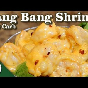 Bang Bang Shrimp – Low Carb Keto Seafood Appetizer Recipe