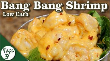 Bang Bang Shrimp – Low Carb Keto Seafood Appetizer Recipe