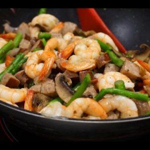 Keto Diet Shrimp Stir Fry – best shrimp low carb keto recipes