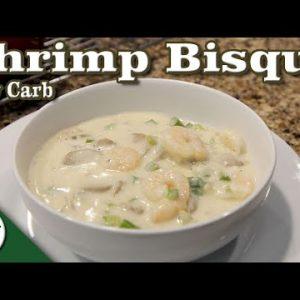 Creamy Shrimp Bisque – Easy Low Carb Keto Soup Recipe