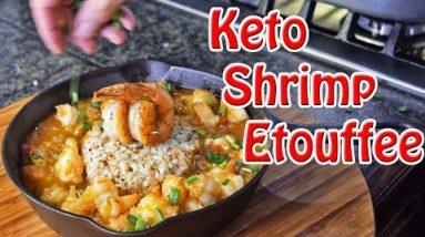 Keto Shrimp Etouffee