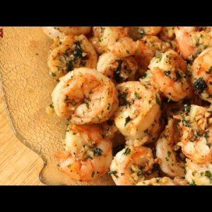Garlic Butter Prawns   Keto Recipes   Headbanger's Kitchen