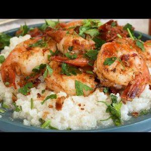 Keto Cajun Shrimp and Cauliflower Rice