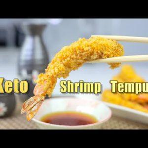 Keto Shrimp Tempura | Air Fryer Recipe | Zero Carbs and Easy to make!