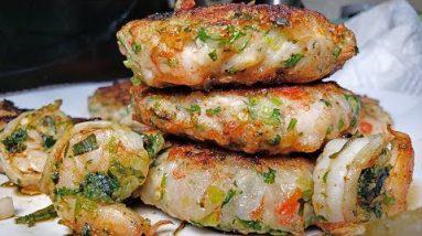 *KETO* Island Shrimp Burgers