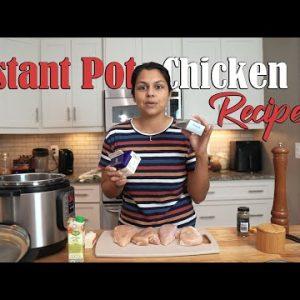 Super Easy Instant Pot Chicken Recipe | Low Carb Keto