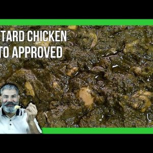 Mustard Chicken Recipe|Chicken In Mustard Greens|Chicken Saag|Saag Chicken|Keto Chicken|Keto Recipes