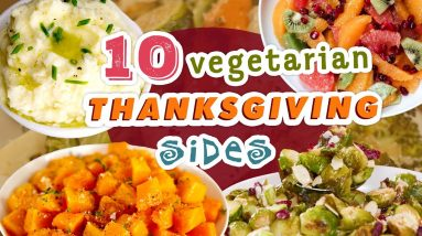 Vegetarian Thanksgiving Sides | Thanksgiving Recipe Compilation | Well Done