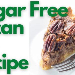 The Best Keto Sugar-Free Pecan Pie Recipe😍 | The Keto World