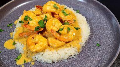 How To Make Keto Shrimp Curry | Keto Shrimp Curry Recipe | Dairy Free