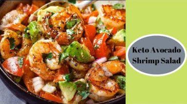 Keto Avocado Shrimp Salad – Keto Recipes