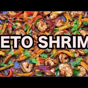 Keto Sheet Pan Shrimp Recipe  | Keto Daily