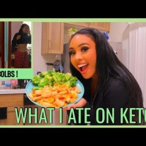 I LOST 100 POUNDS IN 4 MONTHS ON THE KETO DIET | Keto Recipes + What I Eat In A Day | Rosa Charice