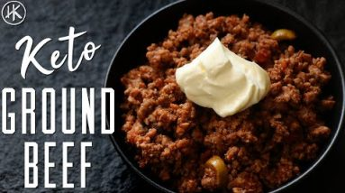 Keto ground beef recipe (ONLY 3 Ingredients) – Easy Keto Dinner