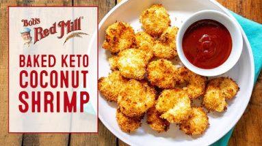 Baked Keto Coconut Shrimp Recipe