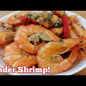 Garlic Butter Shrimp | Keto Low Carb Quick and Easy Recipe