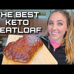 The BEST Keto Meatloaf   Great Keto Meal Prep Recipe
