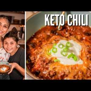 BEST KETO CHILI RECIPE with BEANS! How to Make Keto Chili That's Only 5 Net Carbs! Low Carb Love