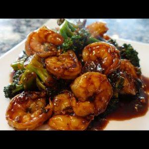 Amazing Shrimp And Broccoli In Garlic Sauce 🥦🍤