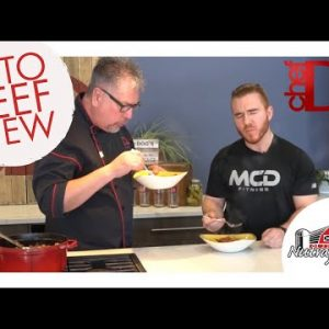 Keto Recipe – Keto Beef Stew with ChefD tv