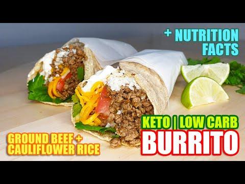 KETO BEEF BURRITO – MEXICAN CUISINE
