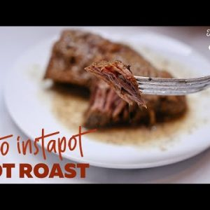 Quick & Easy Keto Pot Roast In The InstaPot!!   2 Meals In One   A Keto Dinner Recipe (2020)