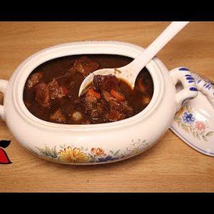 Keto Beef Stew (Beef Bourguignon a la Julia Child)