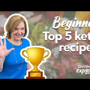 Top 5 keto recipes for beginners – Diet Doctor Explores