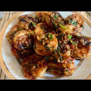 Garlic Shrimp Recipe || Quick & Easy Spicy Garlic Shrimp || Keto Recipe