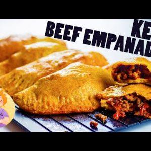 Keto Beef Empanadas    Low Carb Pastelitos De Carne Recipe