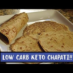 The  Best Keto Flatbread | Low Carb Chapati | Keto Tortilla | Easy to Keto Recipes