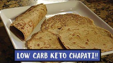 The  Best Keto Flatbread   Low Carb Chapati   Keto Tortilla   Easy to Keto Recipes