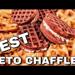 Best KETO Chaffles : White Bread & Chocolate Chaffle Recipes | Suz and The Crew
