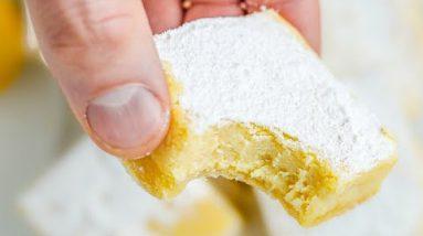KETO Lemon Bars   One of the BEST Keto Desserts For Summer