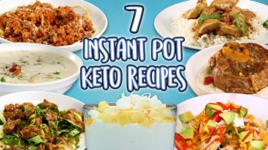 7 Instant Pot Keto Recipes   Low Carb Recipe Super Compilation   Well Done