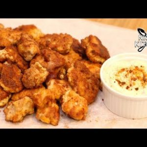 Keto Chicken Nuggets Recipe | Crunchy Low Carb Fast Food