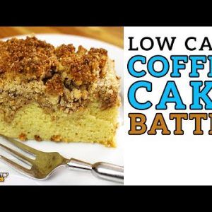 Low Carb COFFEE CAKE Battle – The BEST Keto Coffee Cake Recipe!