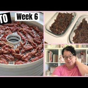 KETO WEIGHT LOSS   Week 6   Homemade Beef Jerky Recipe
