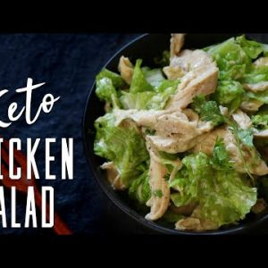 Easy Keto Chicken Salad – ONLY 5 INGREDIENTS