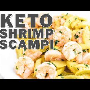 Keto Shrimp Scampi Recipe & Low Carb Pasta Substitute