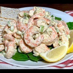 BEST Shrimp Salad +  HOMEMADE Mayo Recipe!!!