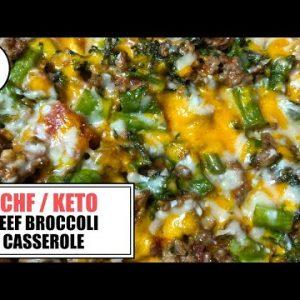 Beef Broccoli Casserole || The Keto Kitchen