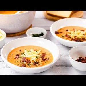 Keto Cheeseburger Soup Recipe – Bacon & Ground Beef Easy to Make (Tasty Low Carb Meals on a Budget)