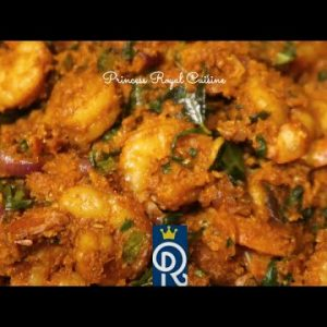 Keto Shrimp Fenugreek Sukka | Coconut Seafood Recipe | Princess Royal Cuisine