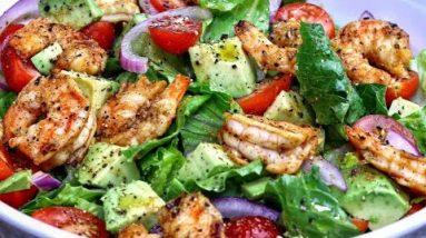 Grilled Shrimp and Avocado Salad   Fresh Shrimp Salad Recipe